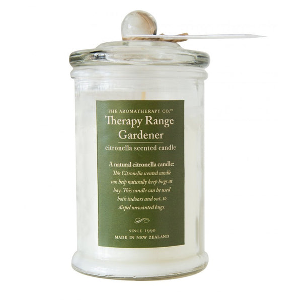 Therapy Garden Citronella scented outdoor candle
