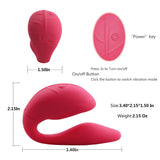Cupid Silicone Couples Vibrator