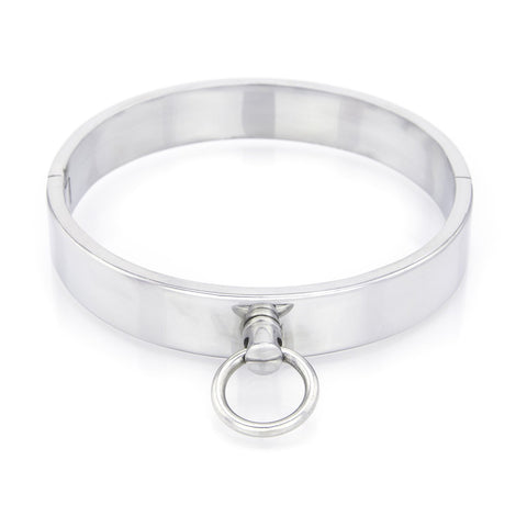 Stainless Steel 1 Ring Slave Collar