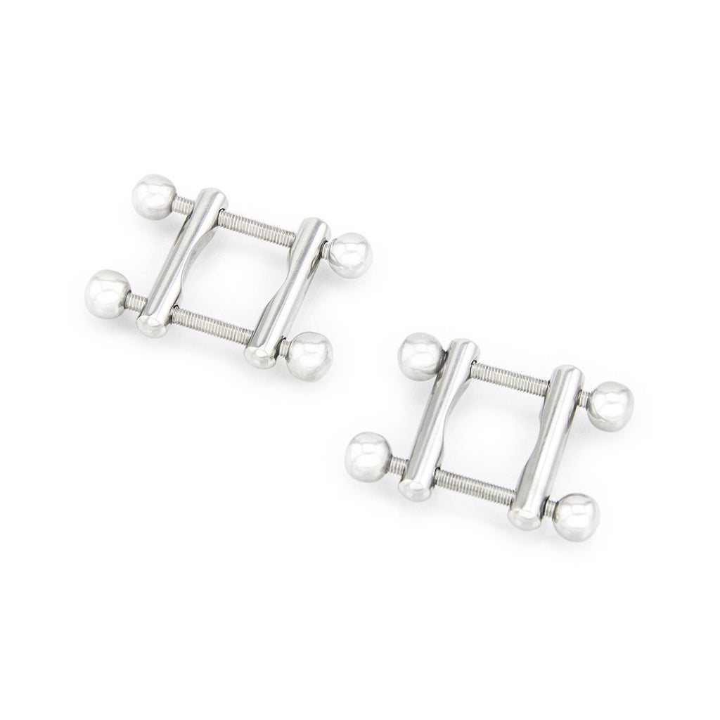 Stainless Steel Twin Screw Nipple Clamps