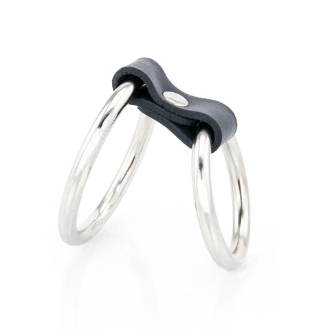 Steel Duo Cock Ring
