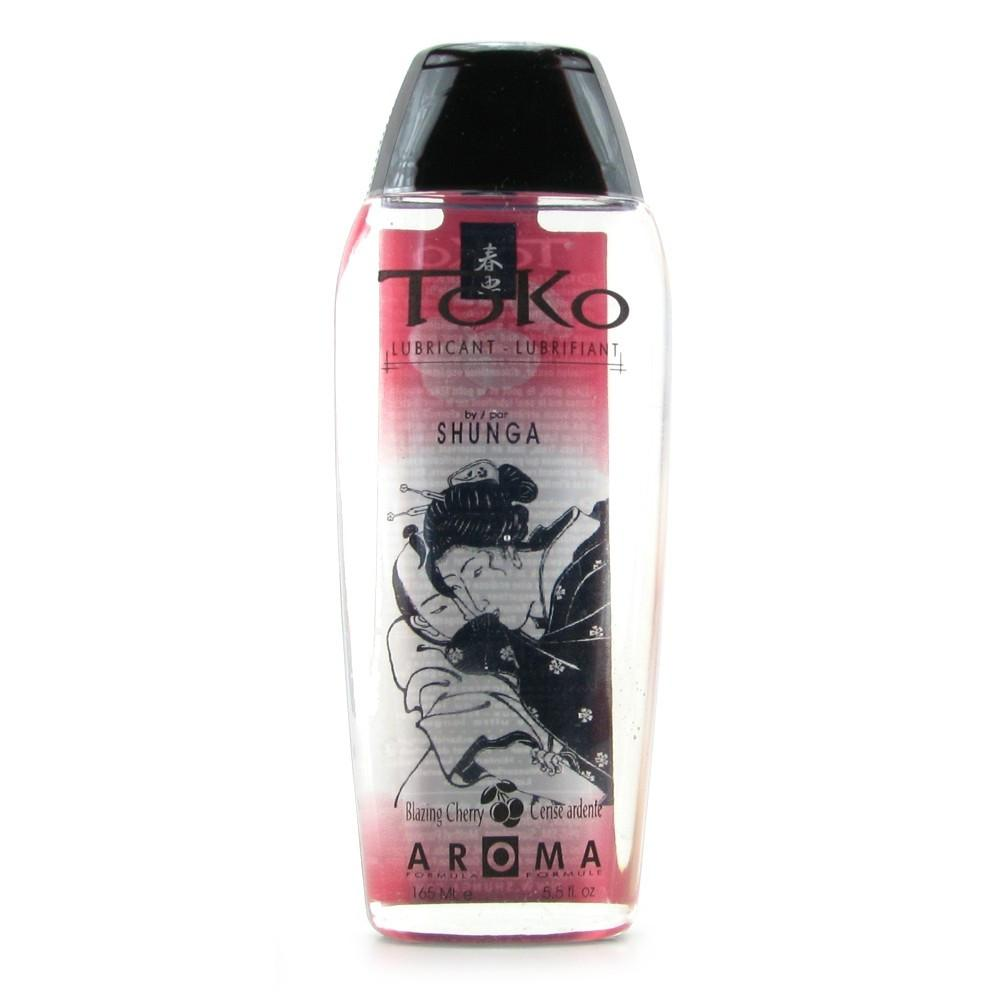 Toko Aroma Flavored Lubricant in Blazing Cherry