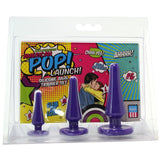 American Pop! Launch! Silicone Anal Trainer Set, Purple