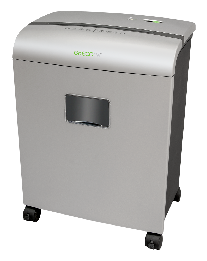 Limited Edition 10-Sheet Microcut Paper Shredder - Silver GMW101Pii