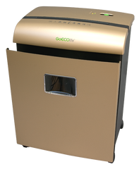 Limited Edition 10-Sheet Microcut Paper Shredder - Gold GMW101Piii