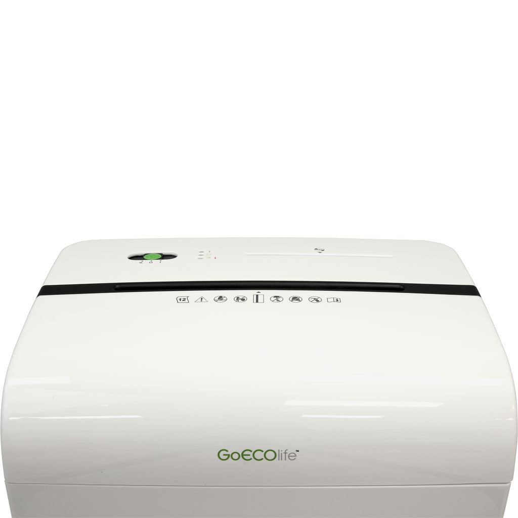 Limited Edition 12-Sheet Microcut Paper Shredder - White GMW120P