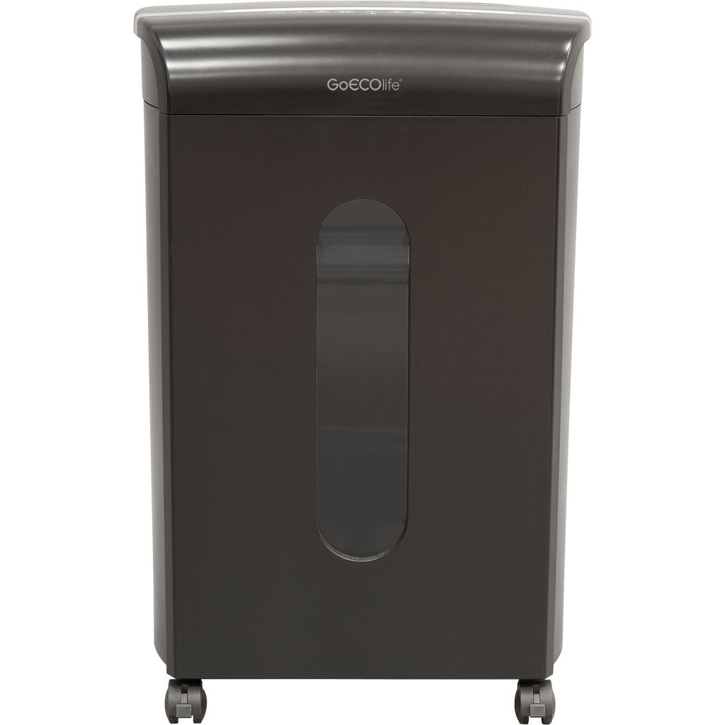 GoECOlife™ 16 Sheet Microcut Commercial Grade Paper Shredder - Black GMC160P-BLK