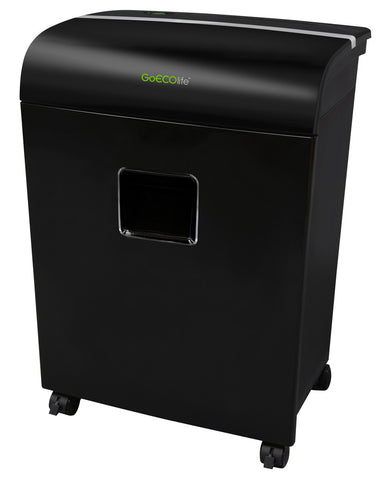 Limited Edition 12-Sheet Microcut Paper Shredder - Black GMW121Pi