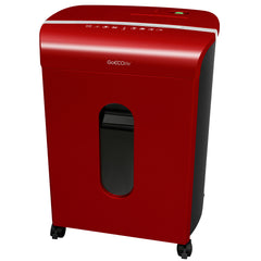 Limited Edition 12-Sheet Microcut Paper Shredder - GMW120PA-RED