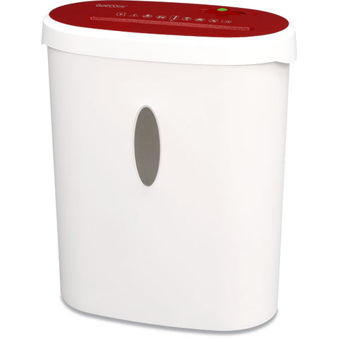 Limited Edition 8-Sheet Microcut Paper Shredder - Red GMA81B-RED