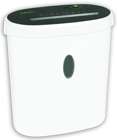 Limited Edition 10-Sheet Microcut Paper Shredder - White GMW101B