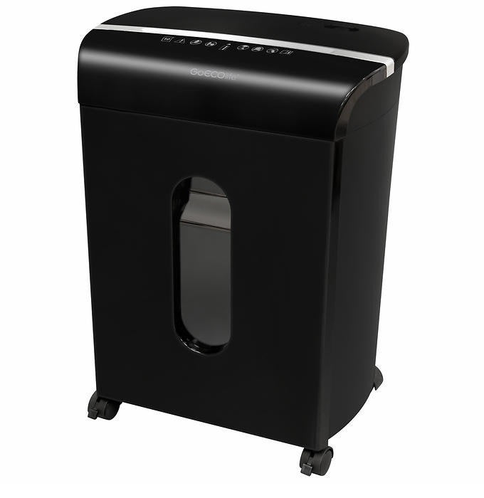 GoECOlife™ 10 Sheet Microcut Paper Shredder - Black GMW104P-BLK