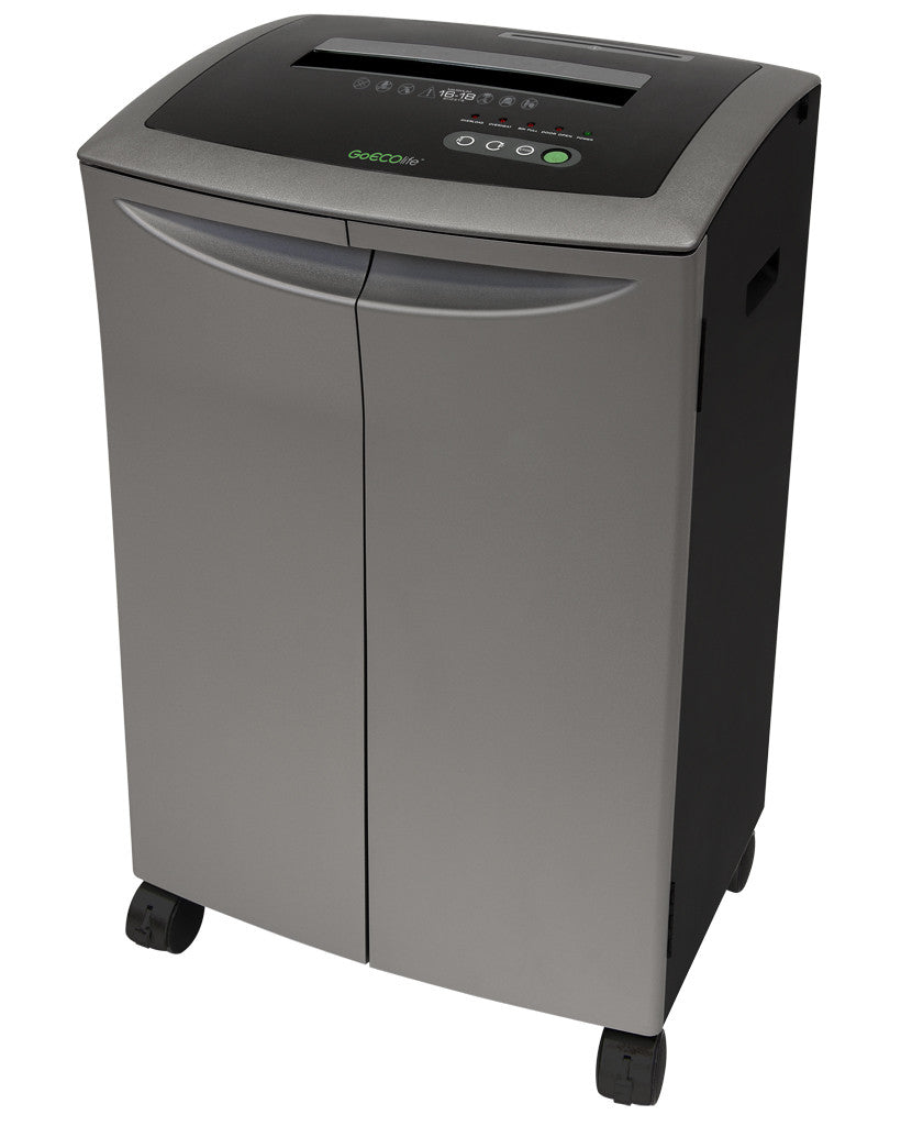 Platinum Series 20-Sheet Crosscut Paper Shredder T-Door GXC200TiB