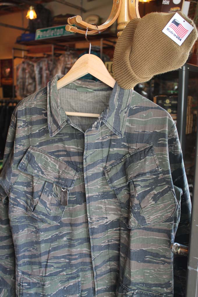 rothco camo jacket that is made in the united states and sold at gunthers