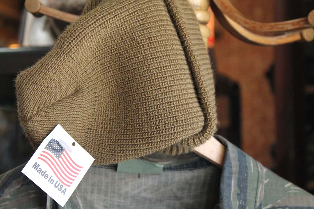 rothco beanie made in the united states brown or olive