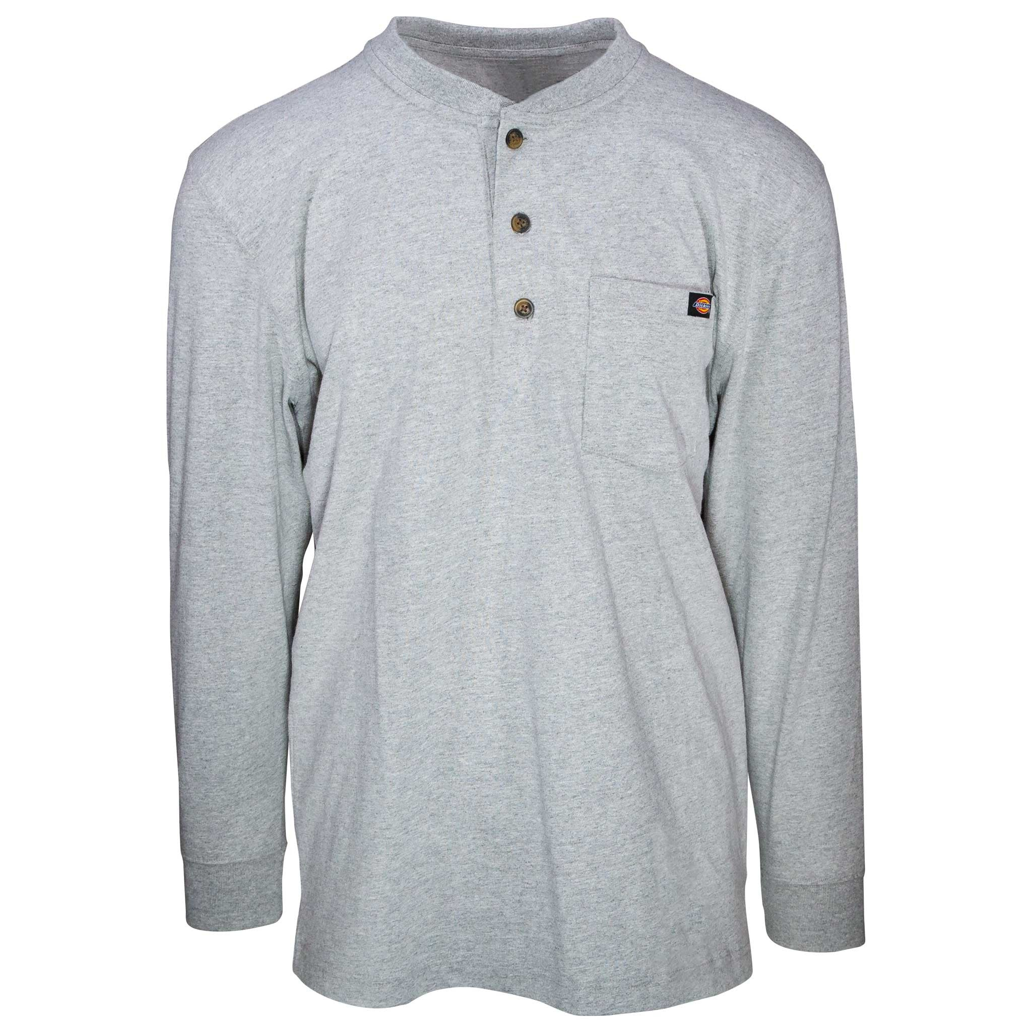 7784e7c09afc Dickies | Long Sleeve Heavyweight Henley - Gunthers Supply And Goods