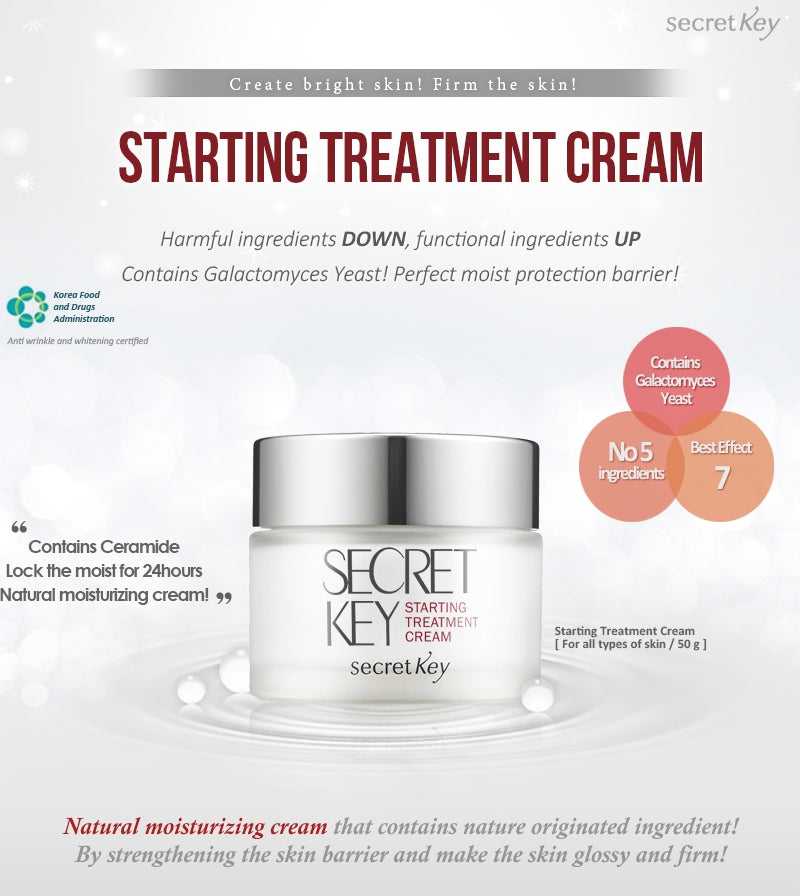 [ Secret Key ] Starting Treatment Cream 50g