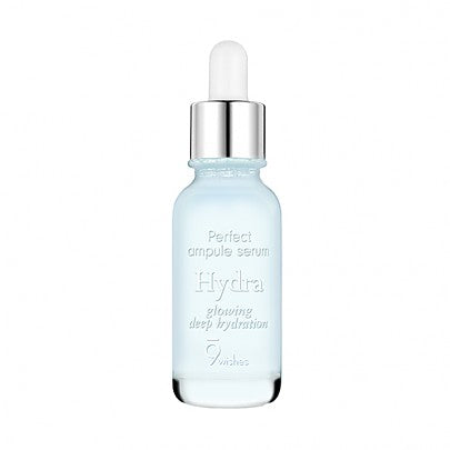 [9Wishes] Hydra Skin Ampule Serum 0.85Fl. Oz, 25ml - KosBeauty