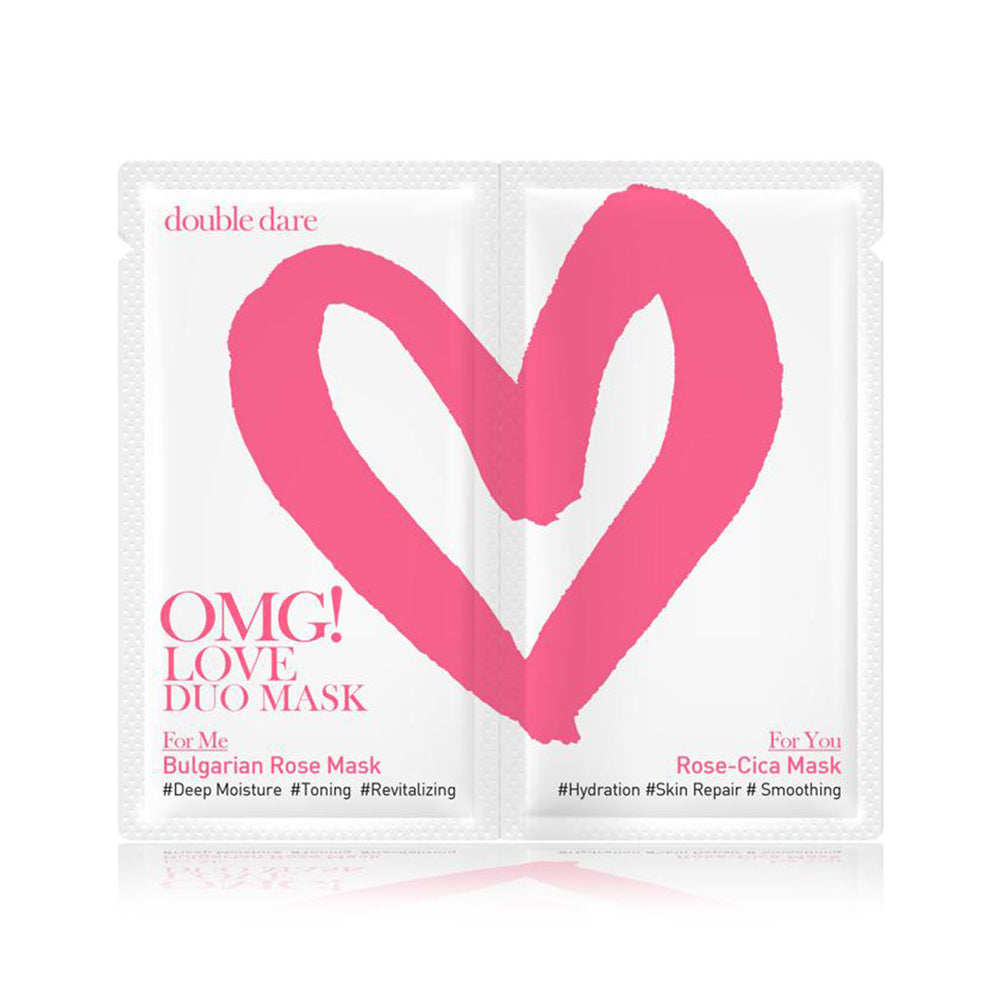 [ DOUBLE DARE ] OMG! Love Duo Mask (Choose Your QTY)