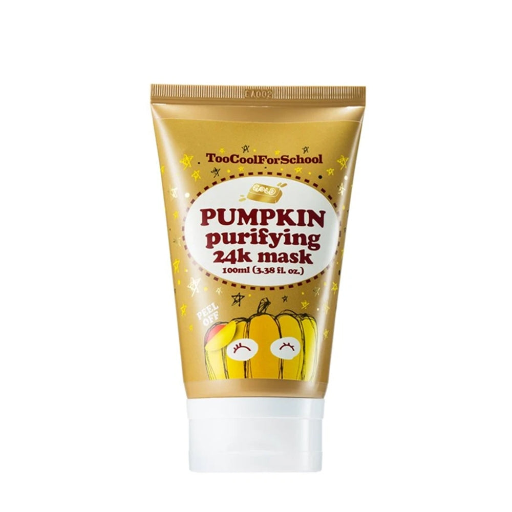 [ Too Cool for School ] Pumpkin Purifying 24K Mask 100ml (3.38 fl. oz.)
