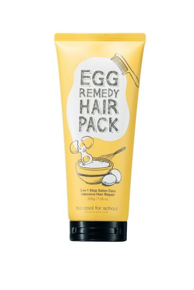 [ Too Cool for School ] Egg Remedy Hair Pack 7.05 oz