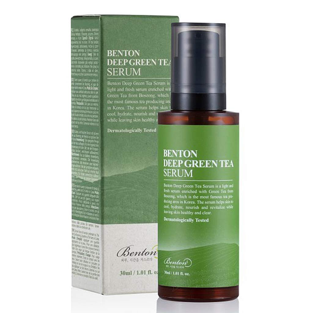 [ BENTON ] Deep Green Tea Serum 30ml (1.01 fl. oz.)