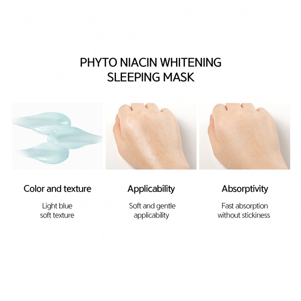 [ NACIFIC ] Phyto Niacin Whitening Sleeping Mask Special Edition 50g + 10g