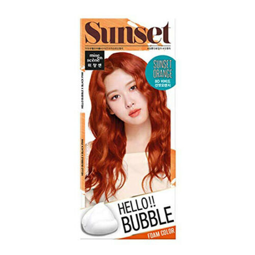 [ MISE EN SCENE ] Hello Bubble Foam Color Easy Self Hair Dye (Choose Your Color)