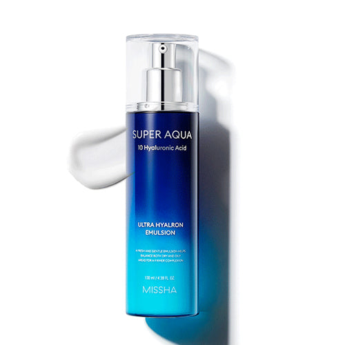 [ MISSHA ] Super Aqua Ultra Hyalron Emulsion 130ml (4.39 fl.oz)