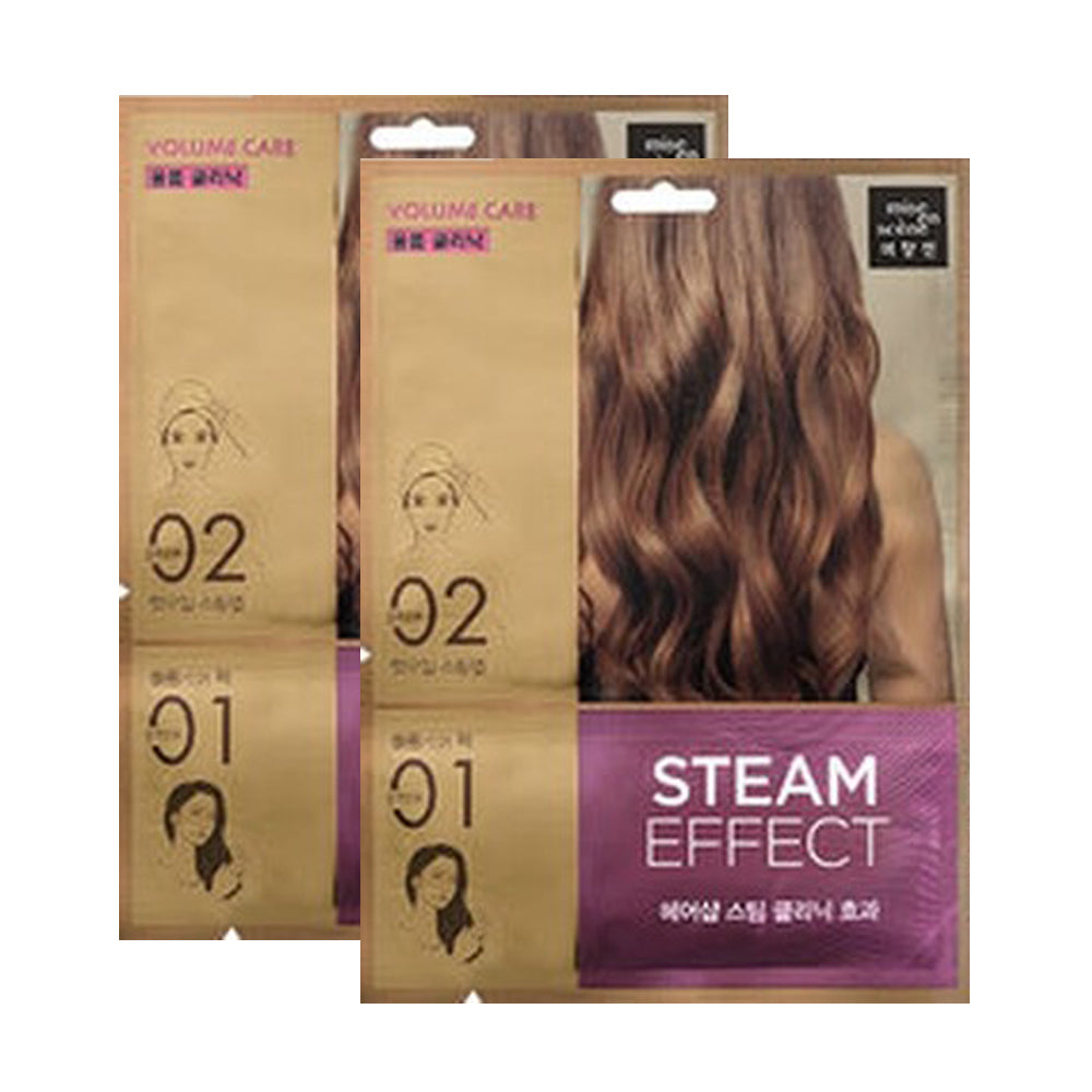 [ Mise En Scene ] Volume Care Steam Hair Mask Pack 2 PC