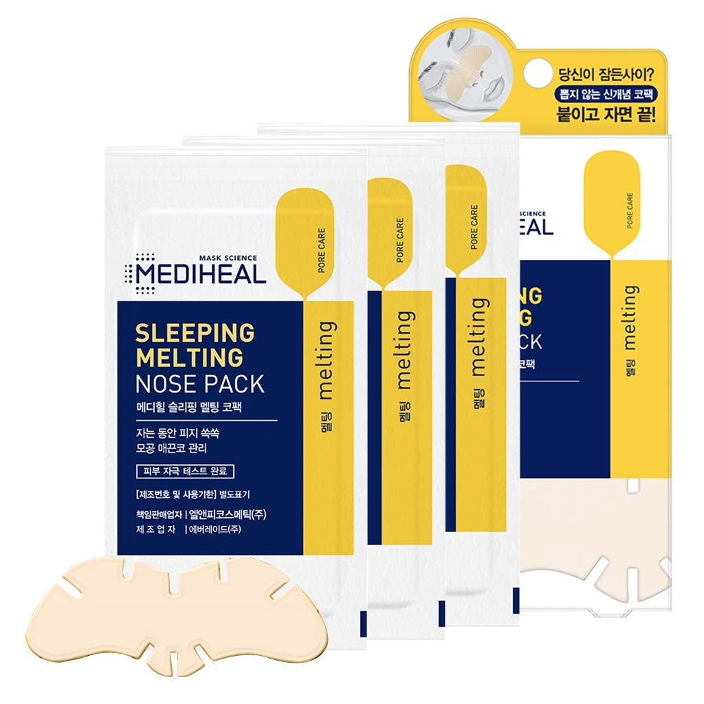[ MEDIHEAL ] Sleeping Melting Nose Pack 3 Sheets