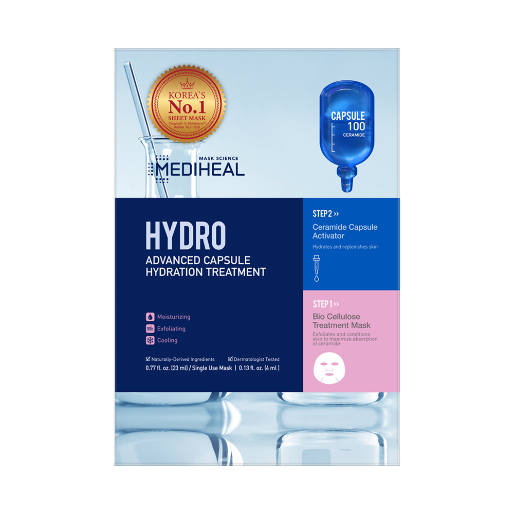 [ MEDIHEAL ] Hydro Advanced Capsule Hydration Treatment 5-PACK