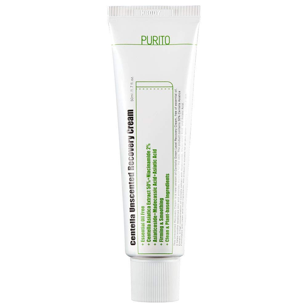 [ PURITO ] Centella Unscented Recovery Cream 50ml (1.7 fl. oz.)