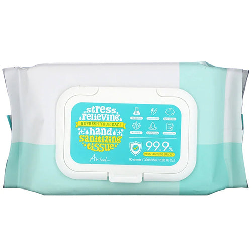 [ Ariul ] Hand Sanitizer Wipes Disinfecting Multipurpose 240 Sheets ( 3 packs of 80 ) - KosBeauty