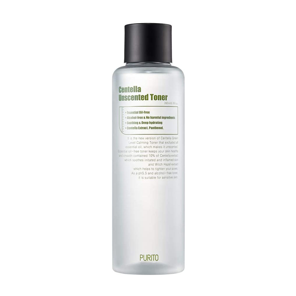 [ PURITO ] Centella Unscented Toner 200ml (6.76 fl. oz.)