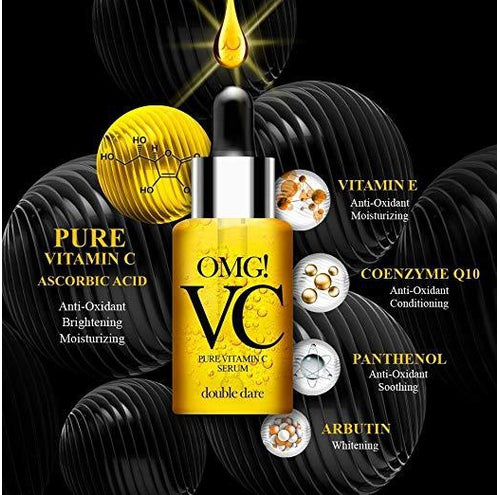 [ DOUBLE DARE ] OMG! VC Pure Vitamin C Serum 22ml - KosBeauty