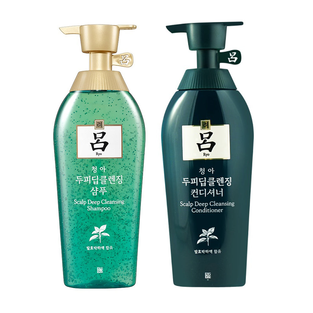[ RYO ] Chung Ah Mo Scalp Deep Cleansing Shampoo & Conditioner SET 500ml