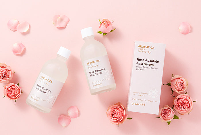 [Aromatica] Rose Absolute First Serum 130mL - KosBeauty