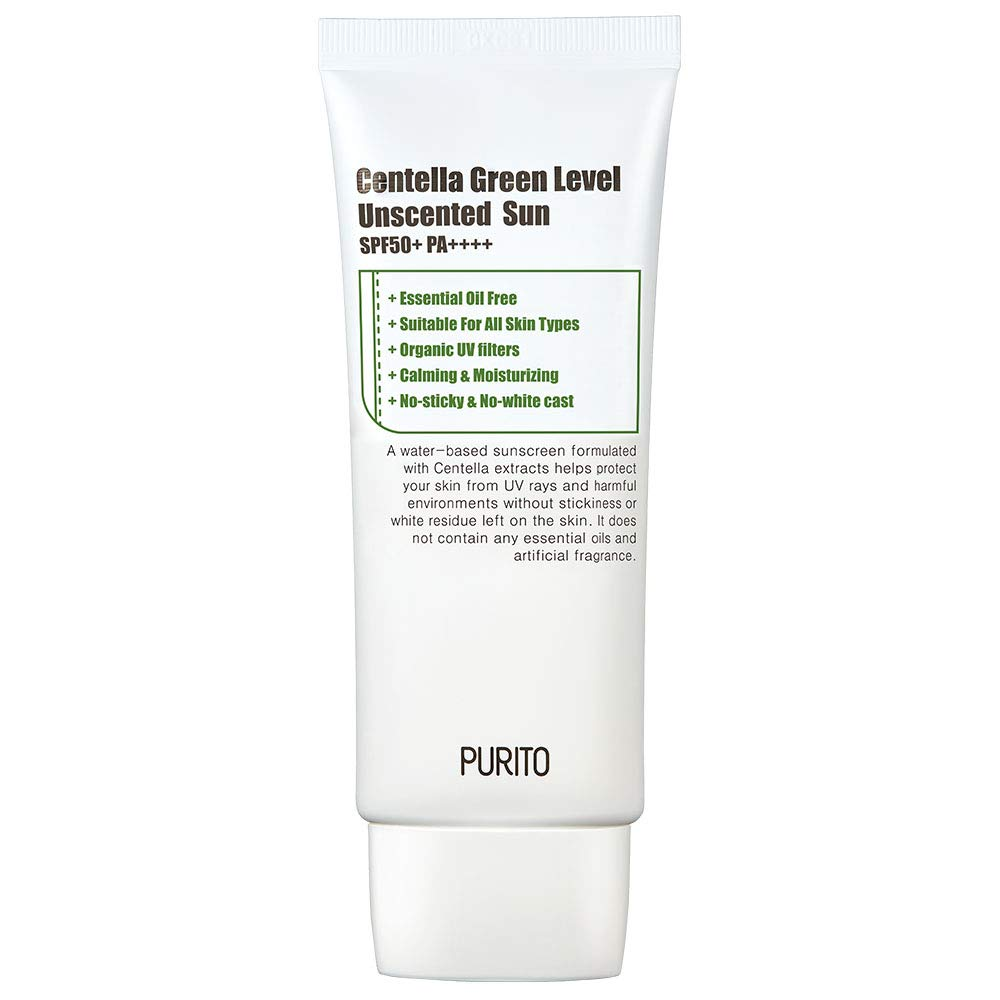 [ PURITO ] Centella Green Level Unscented Sun SPF 50+ PA++++ 60ml (2.0 fl. oz.)