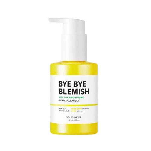 [ SOME BY MI ] Bye Bye Blemish Vita Tox Brightening Bubble Cleanser 120g (4.23 oz)