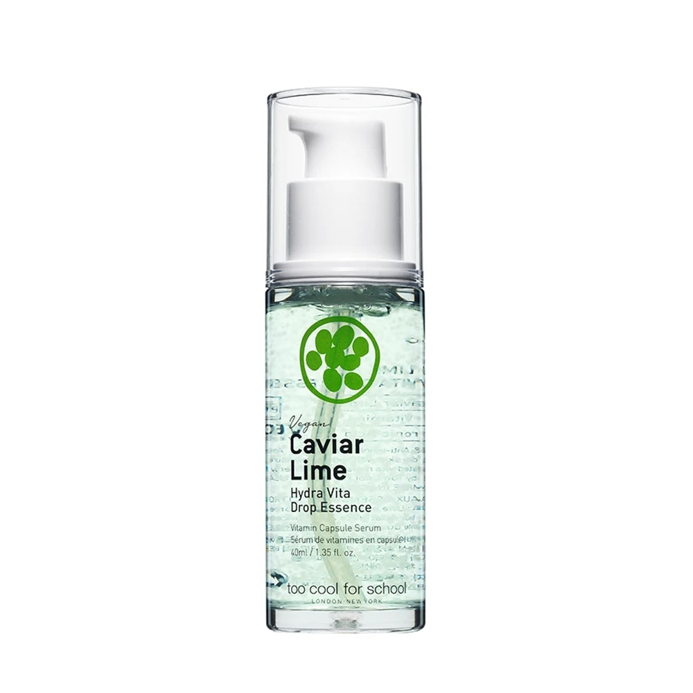 [ TOO COOL FOR SCHOOL ] Caviar Lime Hydra Vita Drop Essence 40ml (1.35 fl. oz.)