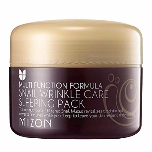 [ MIZON ] Snail Wrinkle Care Sleeping Pack - KosBeauty