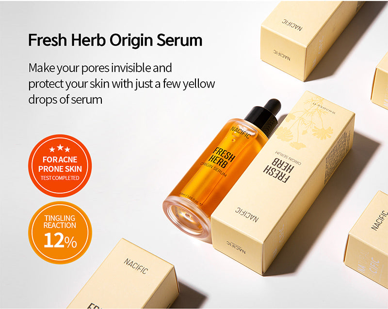 [ NACIFIC ] Fresh Herb Origin Kit ( Toner, Serum, Cream, EM Soap )