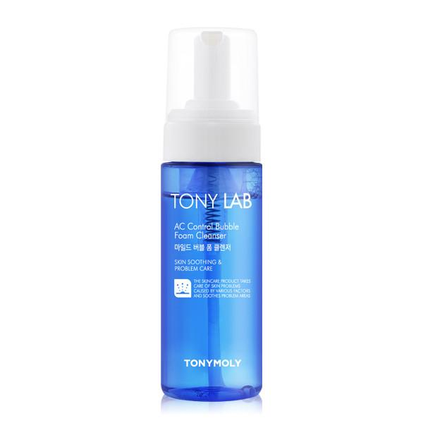 TonyMoly TONY LAB AC Control Bubble Foam Cleanser 150ml - KosBeauty