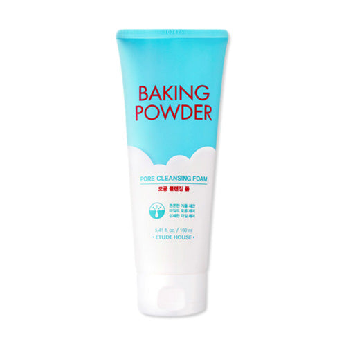 [ Etude House ] Baking Powder Pore Cleansing Foam 160ml ++Free Sample++ - KosBeauty
