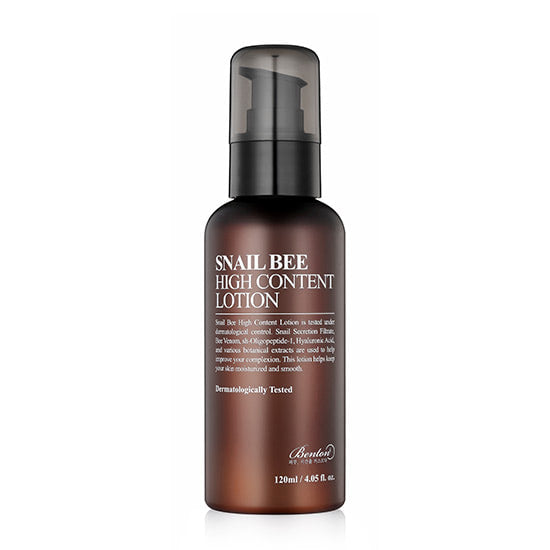 [ BENTON ] Snail Bee High Content Lotion 120ml - KosBeauty