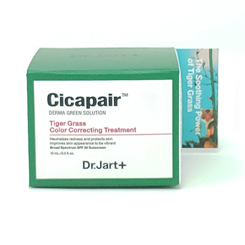 [ Dr.Jart+ ] Cicapair Tiger Grass Color Correcting Treatment 15ml / 0.5fl.oz - KosBeauty