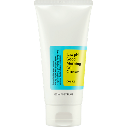 [ COSRX ] Low pH Good Morning Gel Cleanser 150ml - KosBeauty