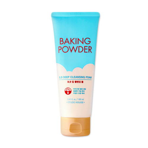 [ Etude House ] Baking Powder B.B Deep Cleansing Foam 160ml - KosBeauty