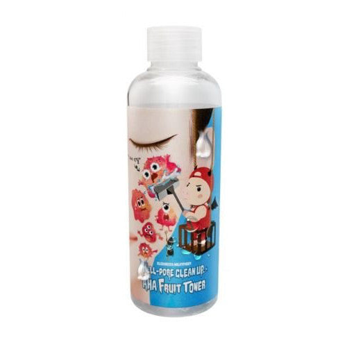 [ Elizavecca ] Milkypiggy Hell-Pore Clean Up AHA Fruit Toner 200ml - KosBeauty